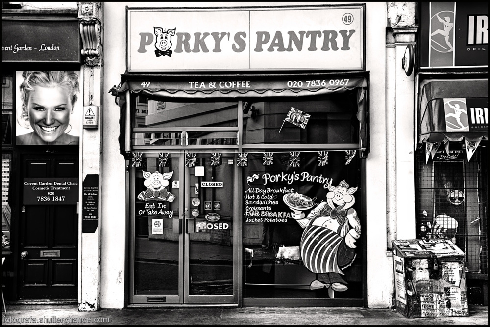 photoblog image On The Tourist Trail - Porky's Pantry